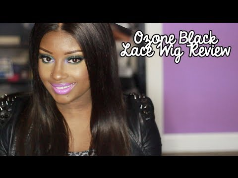 O Zone Black Natural Virgin Lace Front Wig 81
