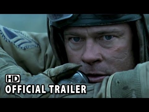Fury Official Trailer Brad Pitt Shia LaBeouf YouTube - New official trailer fury starring brad pitt