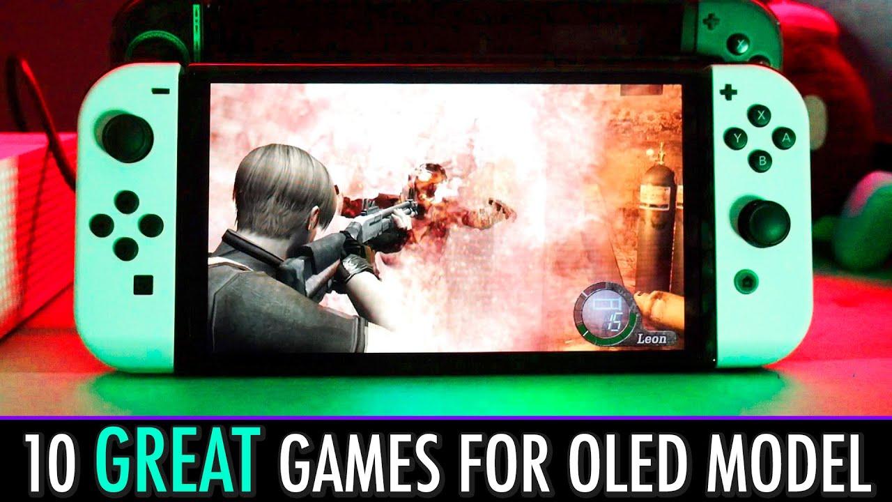Nintendo recomienda algunos juegos para ver en el modelo Switch OLED