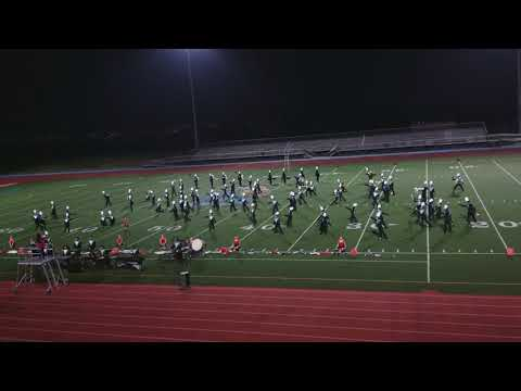 Canyon Springs High School Marching Band perfomance at San Ysirdo High School