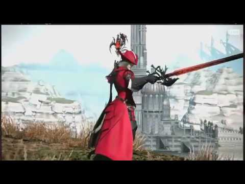 Final Fantasy XIV - Stormblood Red Mage