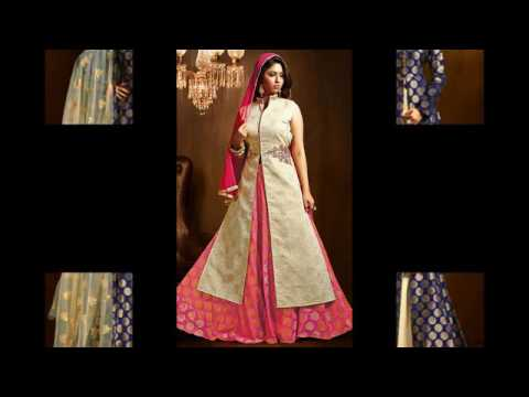 Latest Party Wear Lehenga Style Suits