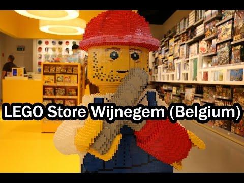 LEGO Store Wijnegem Shopping Center (LEGO Haul Belgium) - YouTube