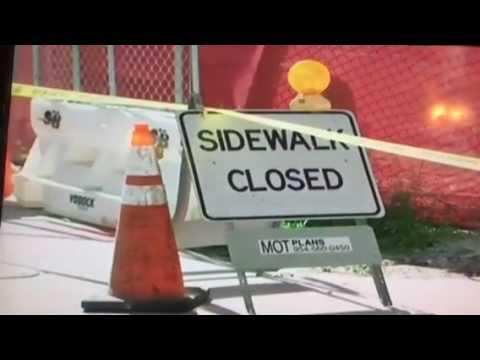 Metromover Accident Downtown Miami