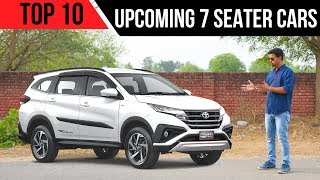 Upcoming 7 Seater Cars in India 2018