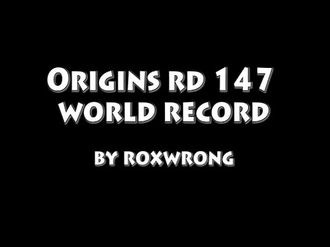 Origins 147 World Record Montage