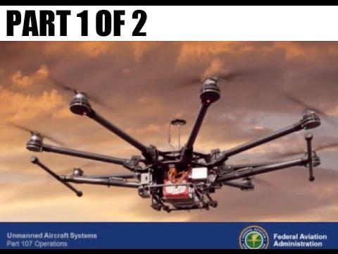 Part 107 Remote Pilot Commercial Use Q & A Webinar - Part 1/2