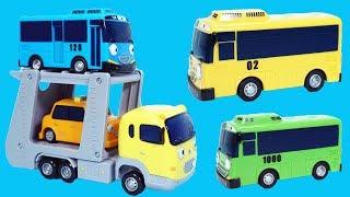 TAYO小巴士的運輸車玩具