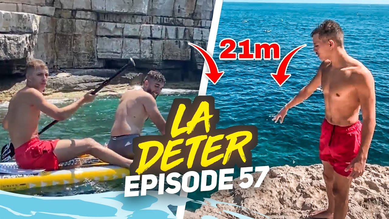 REBEUDETER  CHUTE DE 21 MÈTRES ?? ☠️ - #LaDeter 57 (ft. @Cumly)