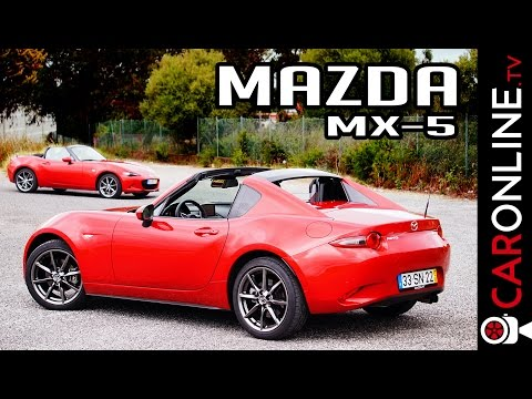 QUAL A MELHOR CONFIGURAÇÃO DO MAZDA MX-5? RF ou SoftTop?  [Review Portugal]