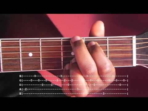Good Riddance (Time of Your LIfe) Guitar Lesson with Tab