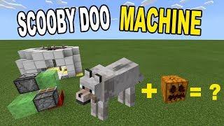 How to Make a SCOOBY DOO MACHINE | Minecraft Bedrock Edition ( MCPE / Windows 10 )