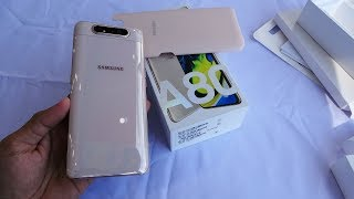 Samsung Galaxy A80 Angel Gold