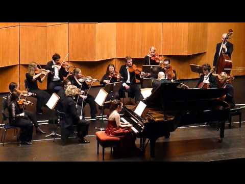 Mendelsssohn - Konzert für Klavier und Streichorchester a-moll 3. Satz, Ana-Marija Markovina