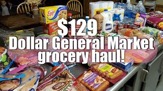 Weekly Grocery haul | Dollar General market | Budget friendly grocery Haul!