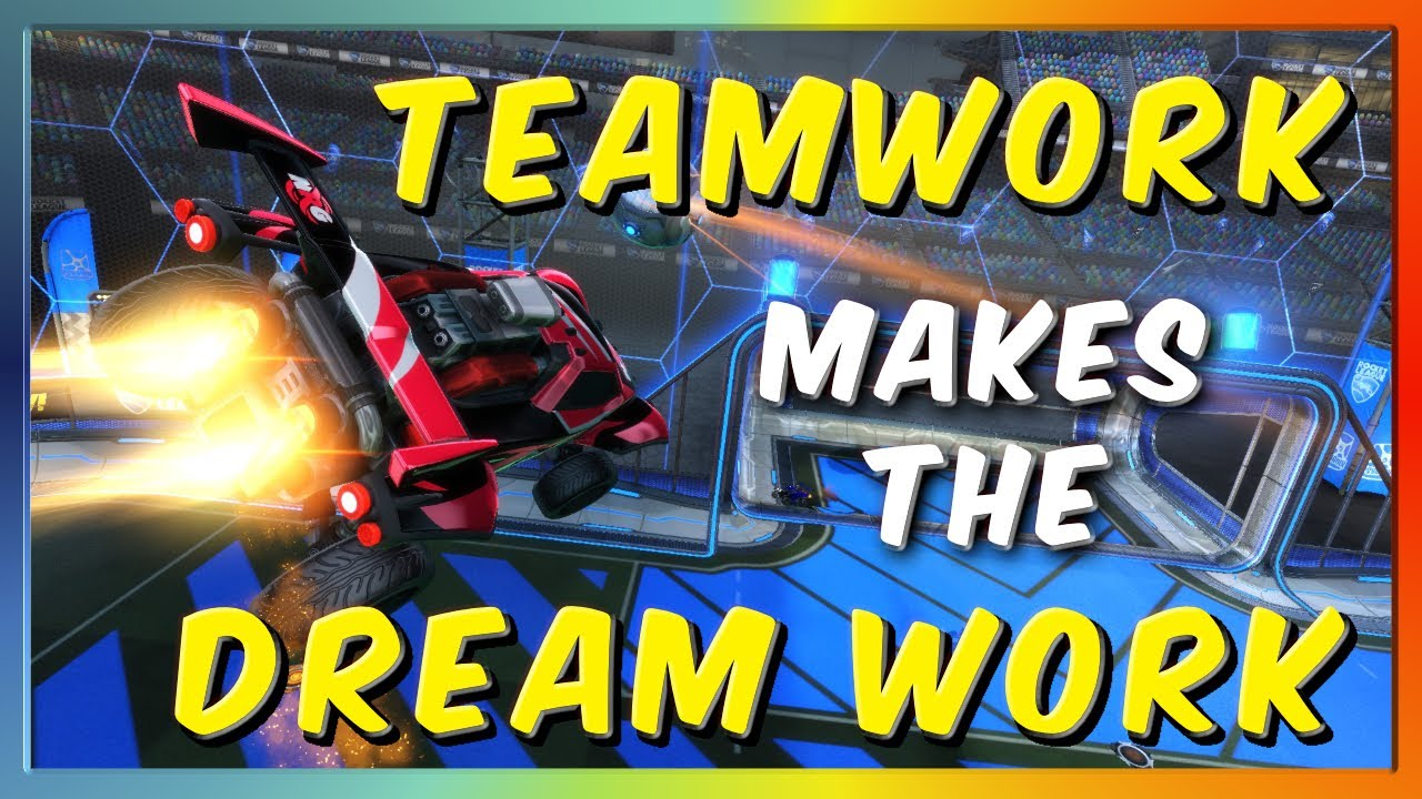 TEAMWORK MAKES THE DREAM WORK | GRAND CHAMPION 3V3 WITH GARRETTG AND GIMMICK