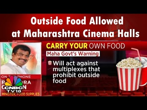 Outside Food Allowed at Maharashtra Cinema Halls, Action Against Multiplexes That Ignore the Law