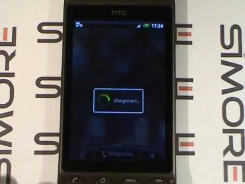 htc hero android double carte sim platinum 3g hsdpa dual sim youtube. Black Bedroom Furniture Sets. Home Design Ideas