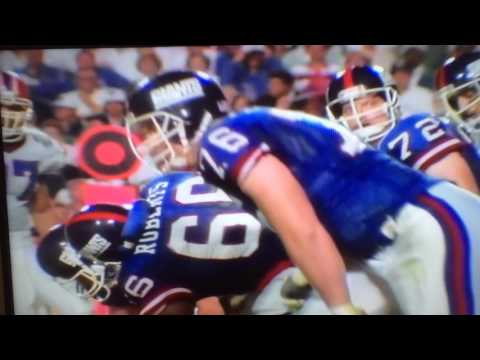 Super Bowl XXV Highlights: New York Giants vs. Buffalo Bills (1991)