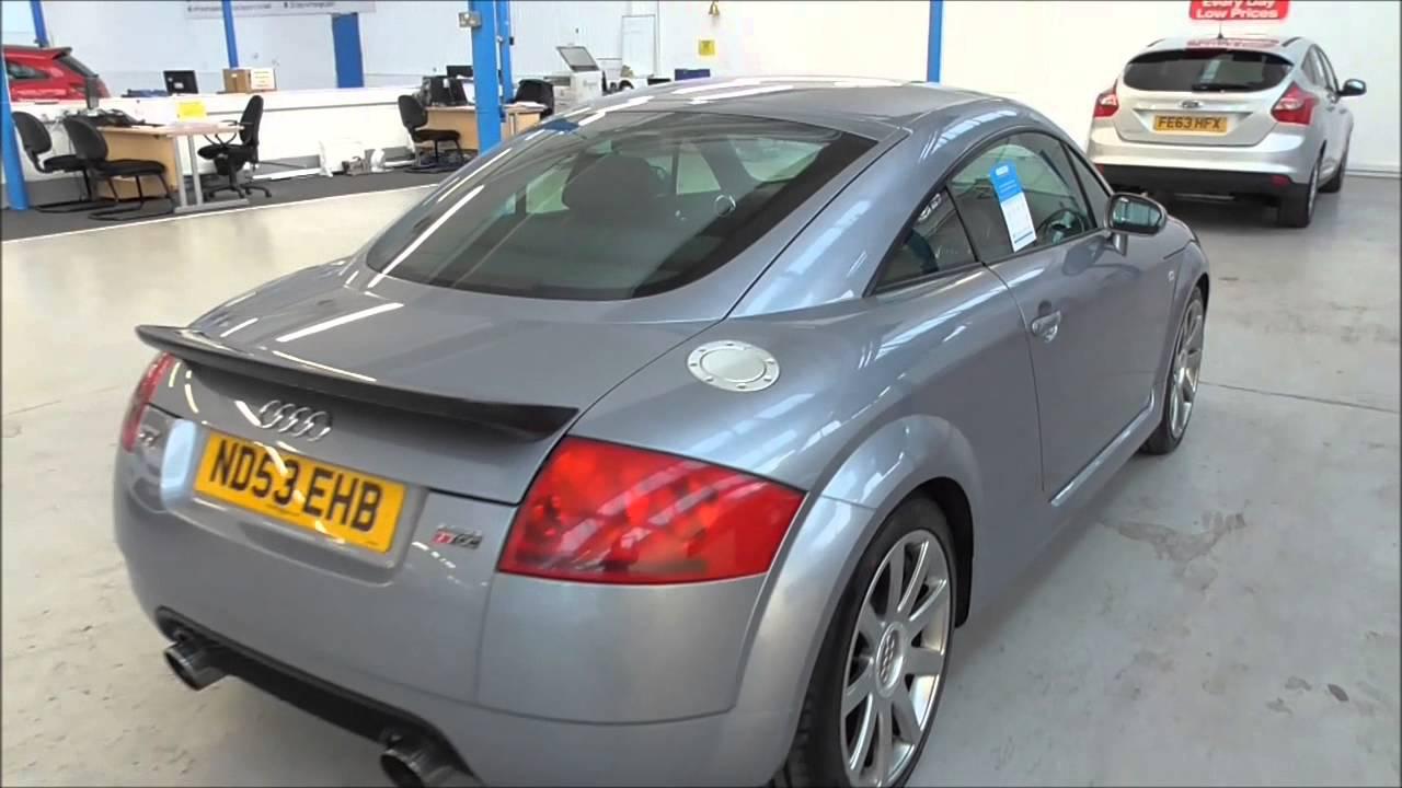 Audi TT 1.8 T Quattro 2dr 225 U20975 - YouTube