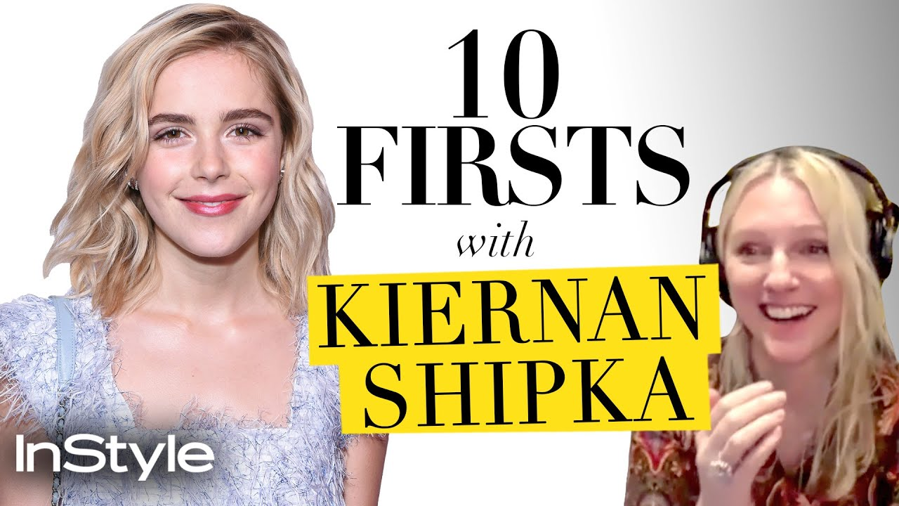 Why Kiernan Shipka Took Timothée Chalamet On So Many Dates | 10 Firsts | InStyle