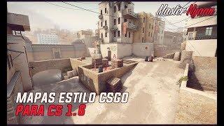 Pack de Mapas del CS:GO Para Counter Strike 1.6 l 2# l