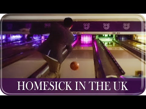 HOMESICK IN THE UK Bowling Date Night! | The Postmodern Family EP#97