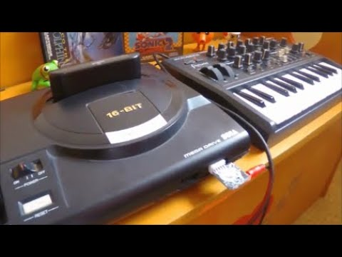 Making Mega Drive Music. Review Of The GenMDM.