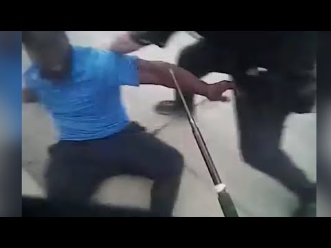 Milwaulkee Police Fight Combative Mentally Ill Subject