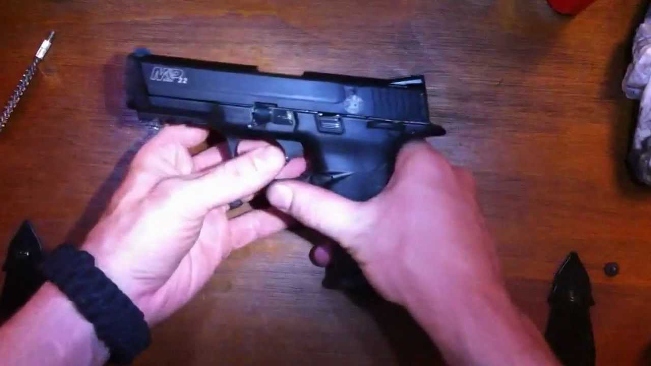 hight resolution of how to clean and disassemble the s w m p22