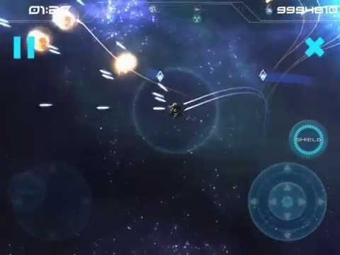 Augmented Reality Asteroids - Classic Mode Gameplay Video