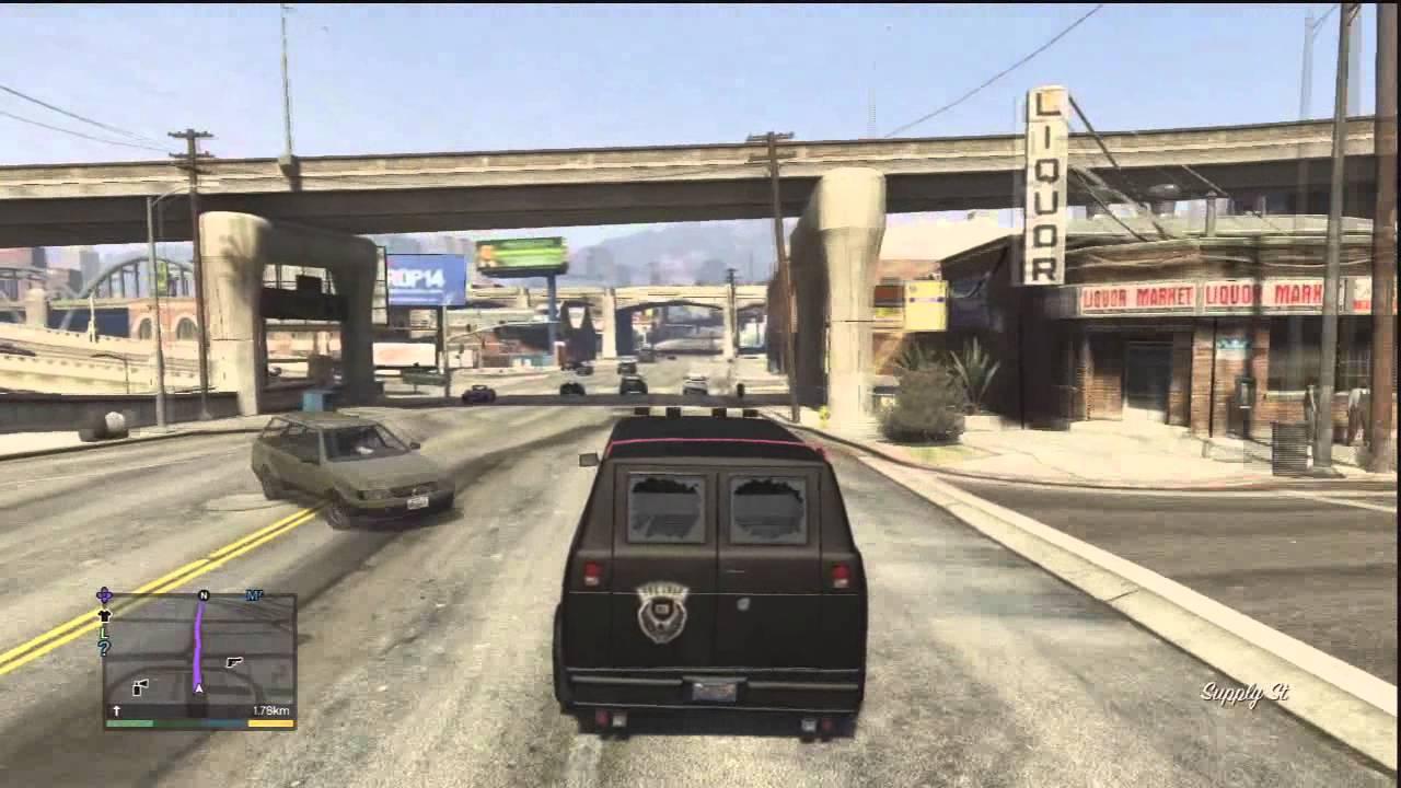 GTA 5 A Team Van