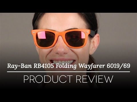 ray ban folding sunglasses review