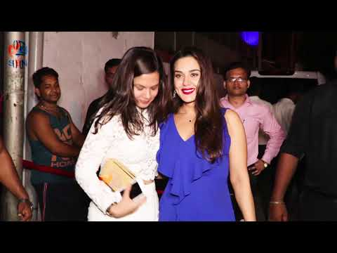 Preity Zinta Attends Mukesh Chhabra Birthday Party