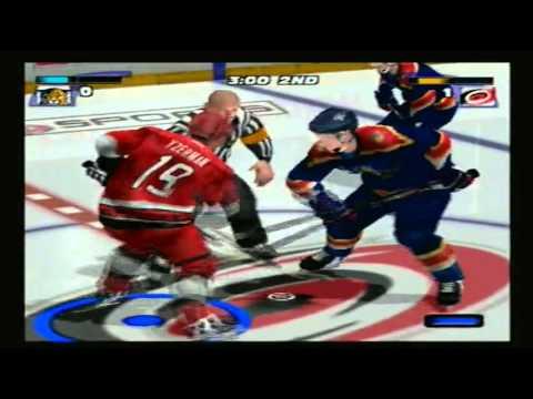 NHL Hitz 2003 Season Mode: Carolina Hurricanes Game 1 vs. Florida Panthers