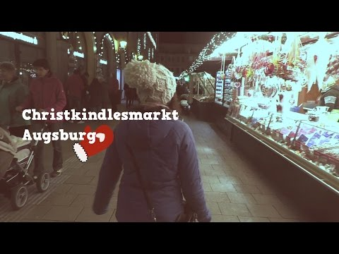 Christmas Fair in Augsburg, Germany | Christkindlesmarkt