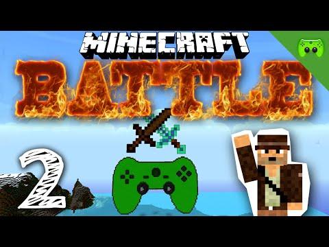 MINECRAFT BATTLE Wer Steht Da Lets Play Minecraft Battle - Minecraft pc version mit controller spielen