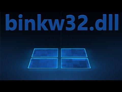 Скачать Binkw32.dll и исправить ошибку в Windows 10/7