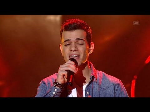 Patrick Reis - Get Lucky - Blind Audition - The Voice of Switzerland 2014