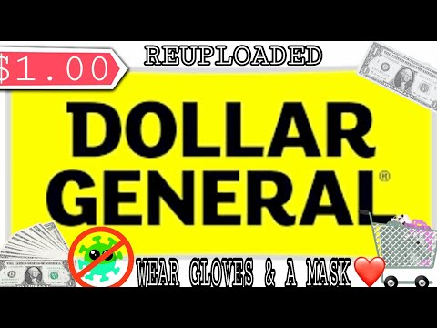DOLLAR GENERAL $1 OR LESS | REUPLOAD | CHEAP ESSENTIALS