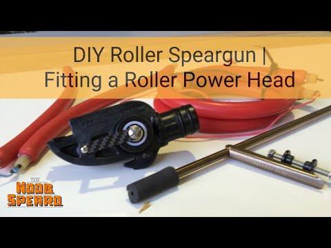 DIY Roller Speargun - Fitting A Roller Power Head