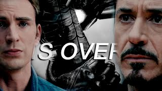 Is over | Superfamily/Civil War AU | Part I