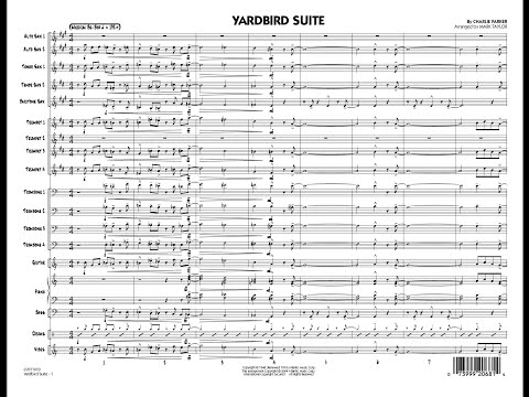 Yardbird Suite by Charlie Parker/arr. by Mark Taylor