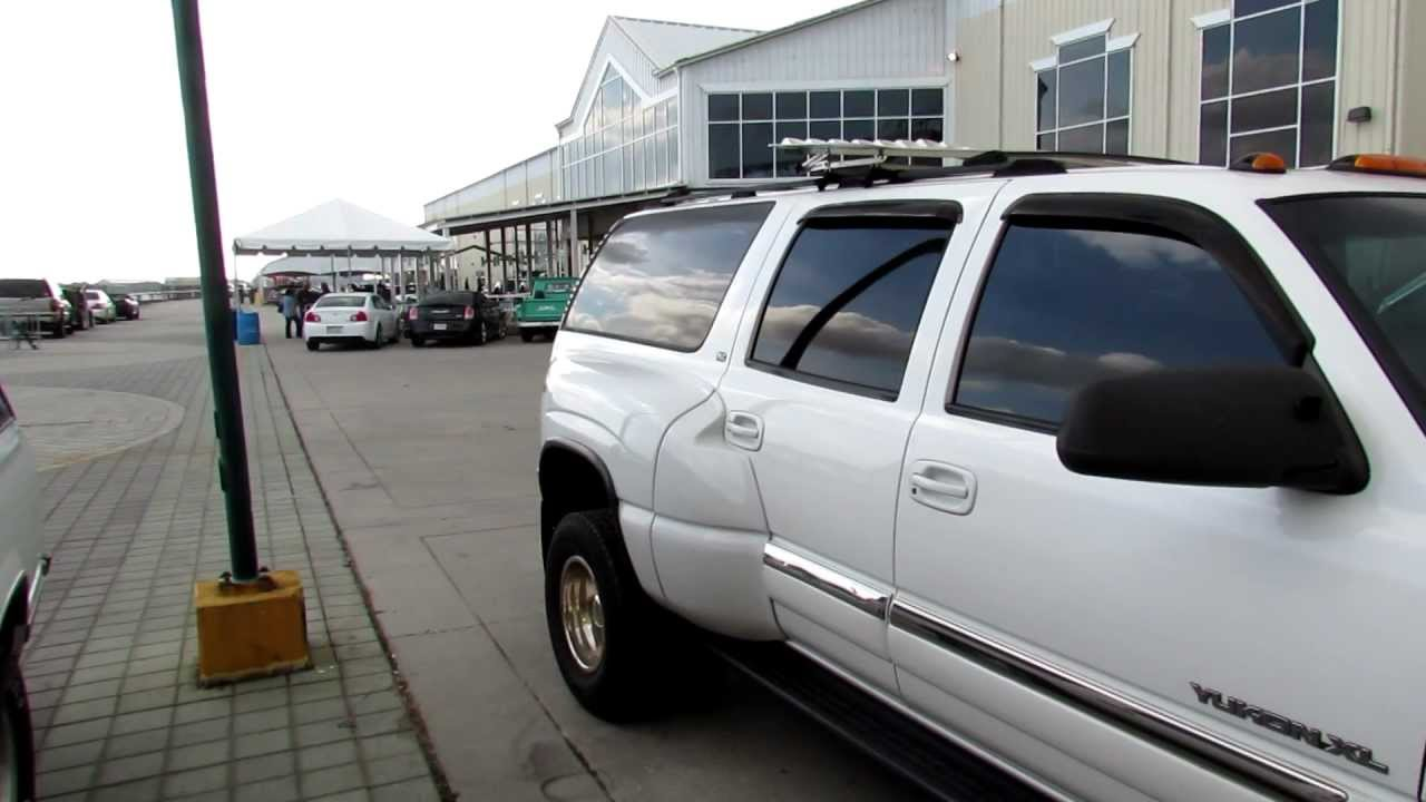 GMC Yukon XL Dually - YouTube