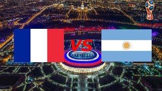 MM-Kisat 2018 Fifa 18 | Osa 21 Ranska vs Argentina
