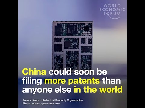 China could soon be filing more patents that anyone else in the world