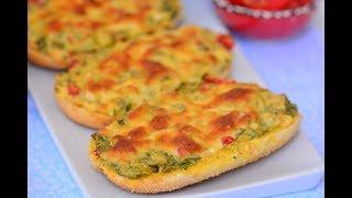 Börek  Tadında  Peynirli Ekmek  Nasıl Yapılır ( 3 dakika Tarifleri)