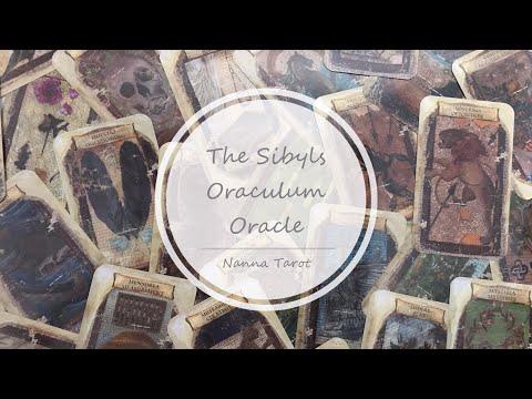 開箱  利比亞先知神諭卡 • The Sibyls Oraculum Oracle // Nanna Tarot
