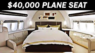 The Most Expensive First Class Airplane Seat