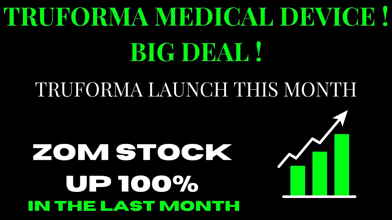 Download ZOMEDICA CORP ZOM STOCK CHART ANALYSIS | TRUFORMA MEDICAL DEVICE ! BIG DEAL !